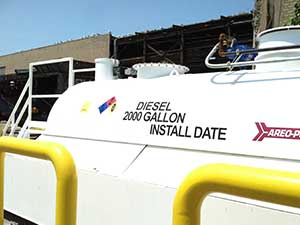 Diesel Fuel Storage